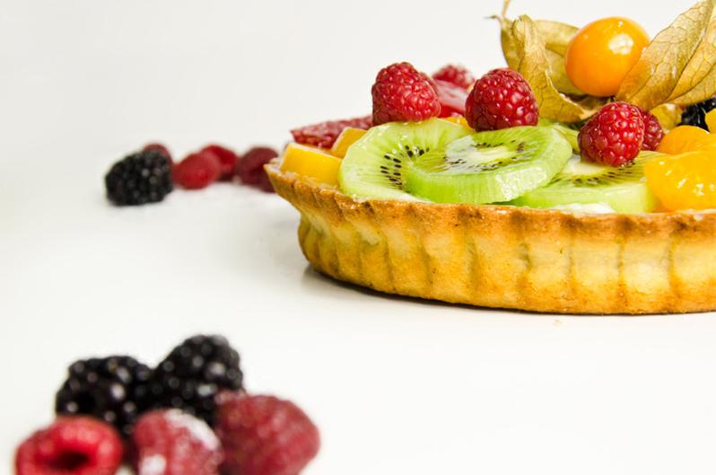 Tarta de frutas de Panadería Christian