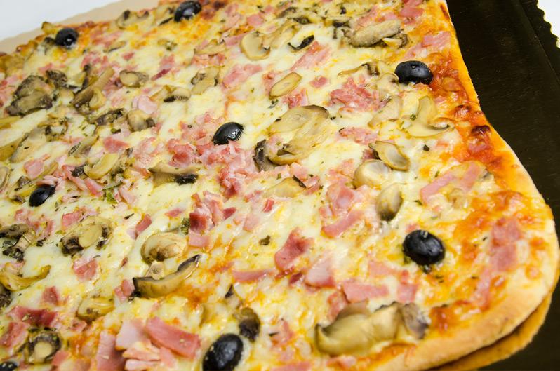 Pizza artesana panadería