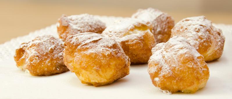 Buñuelos panadería Christian