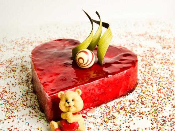 tarta de san valentín