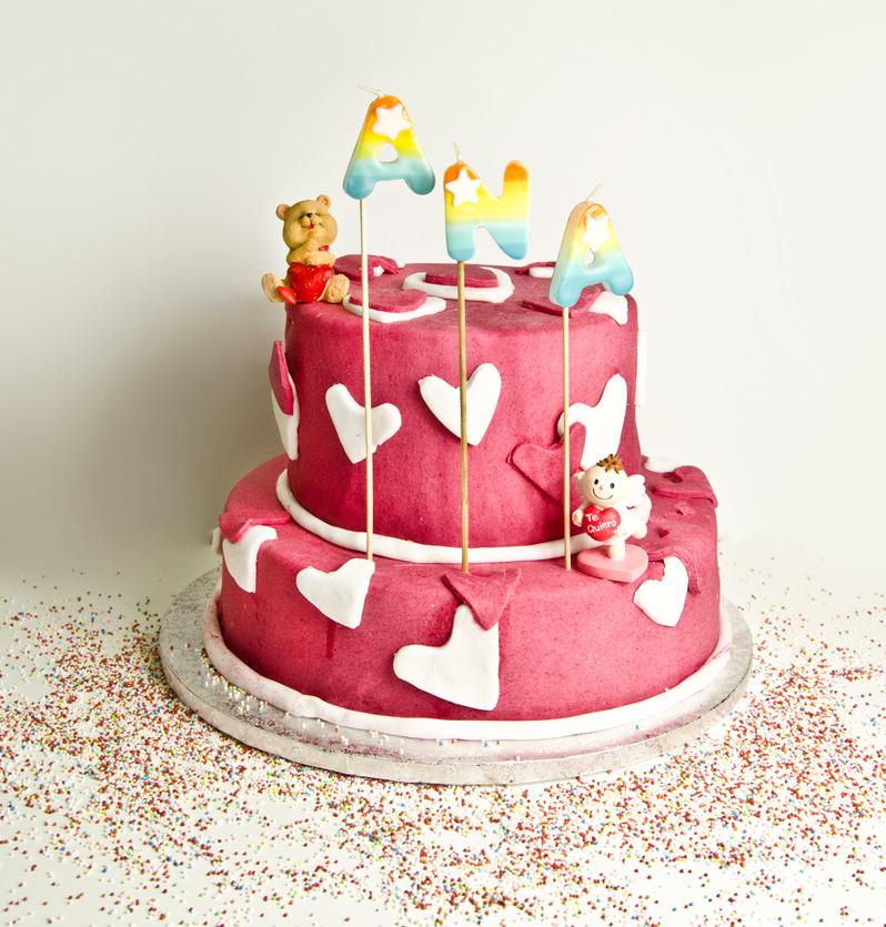 Tarta de cumpleaños personalizada