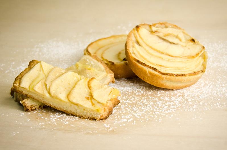 Tarta de manzana de Panadería Christian