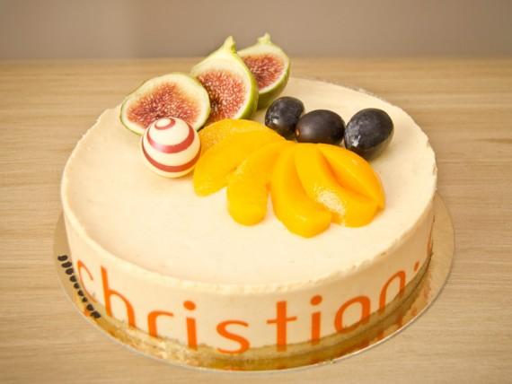 Tarta con frutas